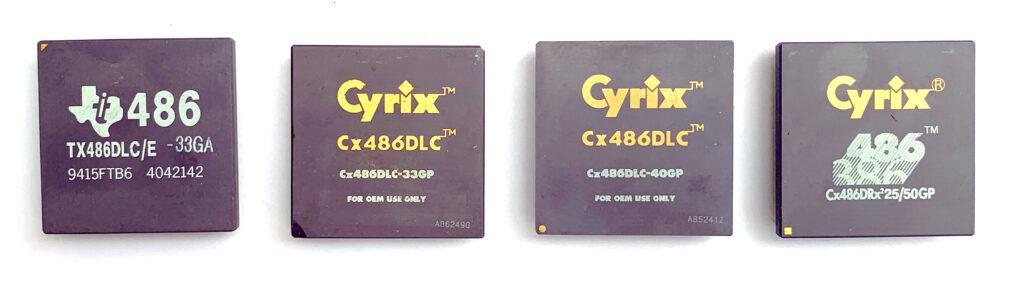 Cyrix 486DLC & DRx2